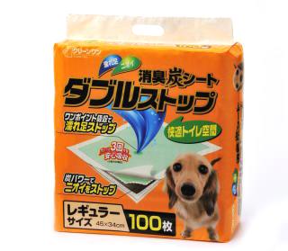 ミニチュアダックス 3.5kg エイドリアン シェーデットクリーム トイレシートのパッケージのモデル犬